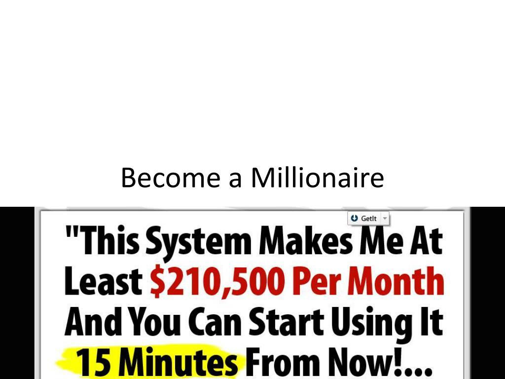 become a millionaire l.