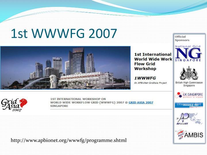 1st WWWFG 2007