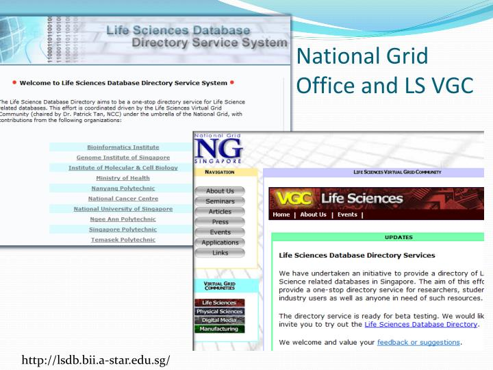 National Grid Office and LS VGC