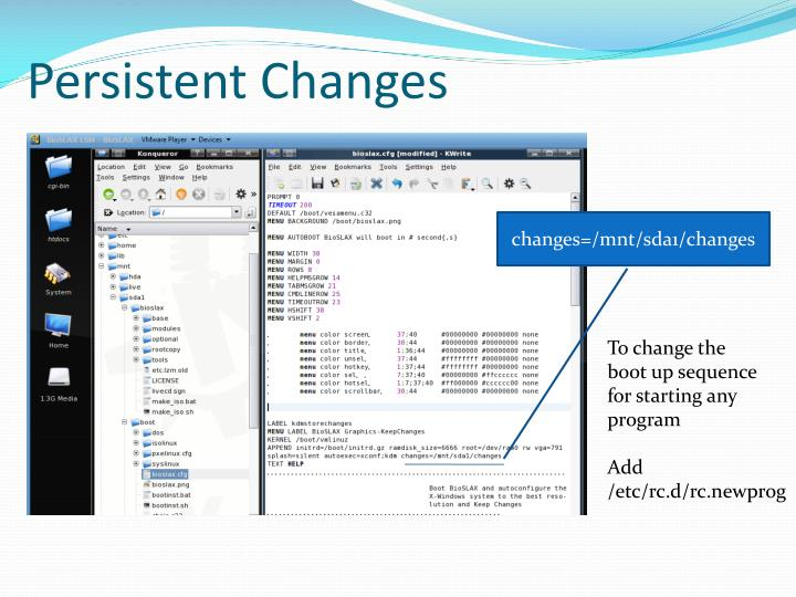 Persistent Changes