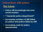 interactions with police