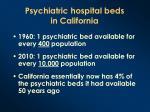 psychiatric hospital beds in california1