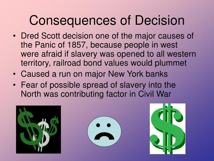 Consequences of Decision