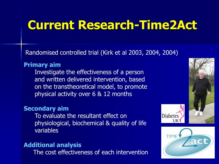 Current Research-Time2Act
