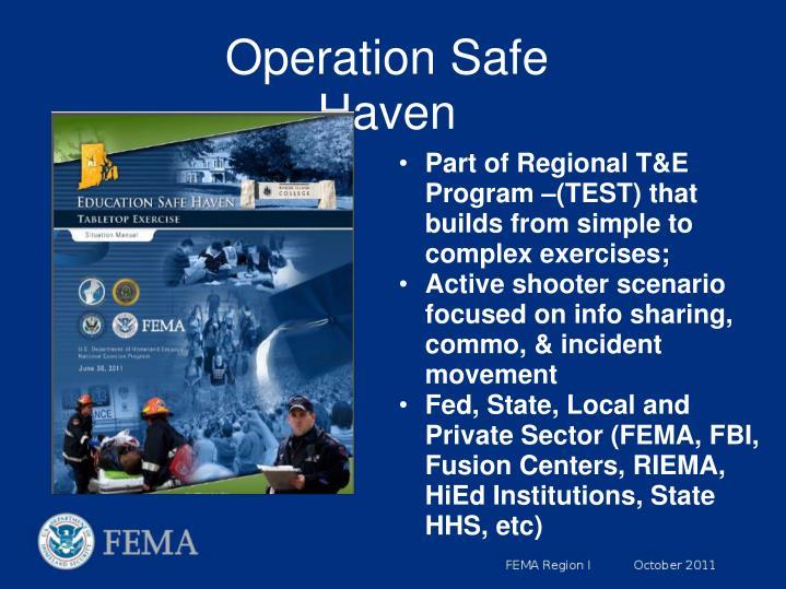 Operation Safe Haven