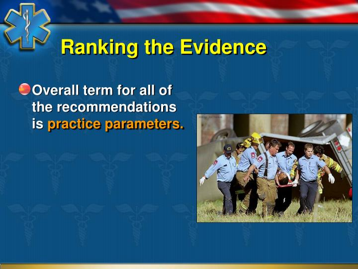Ranking the Evidence