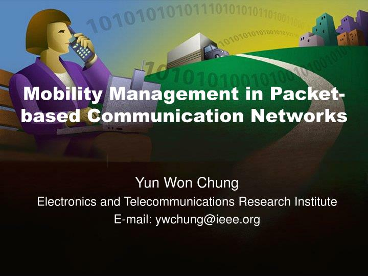 mobility management in packet based communication networks n.