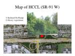map of hccl sr 91 w