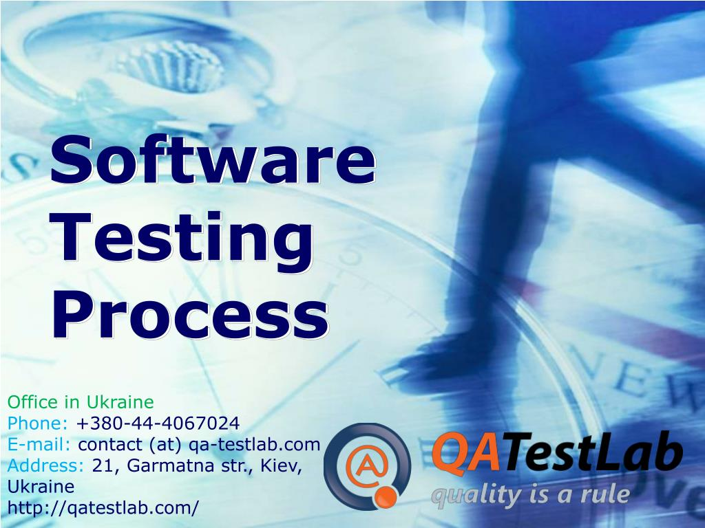 software testing process l.