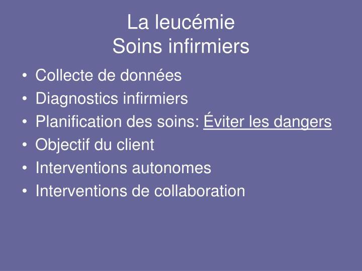 La leucémie