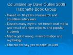 columbine by dave cullen 2009 hatchette book group