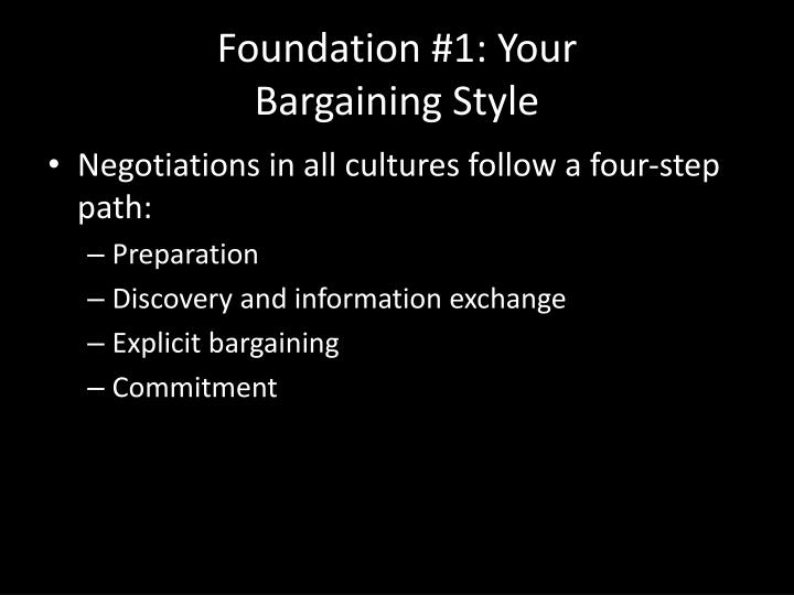 Foundation #1: Your