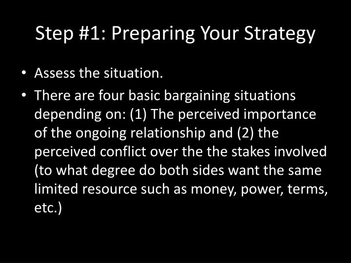 Step #1: Preparing Your Strategy