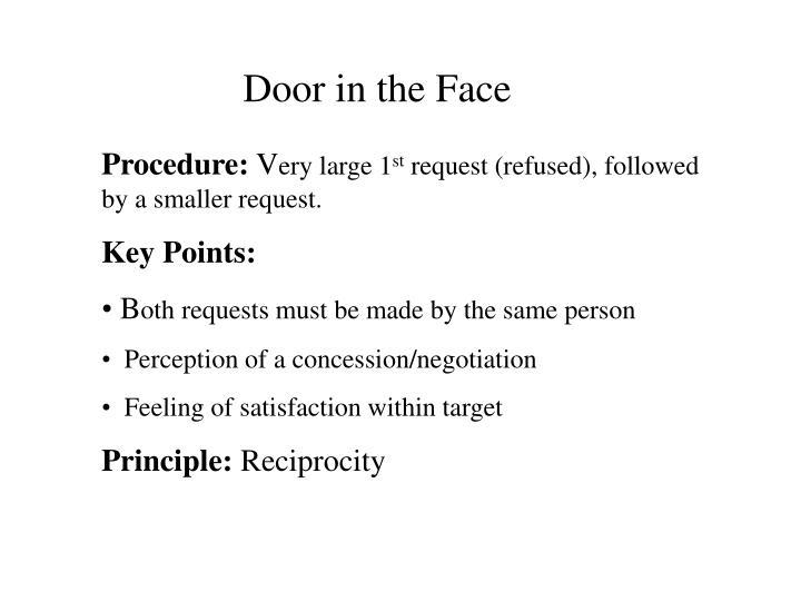 Door in the Face