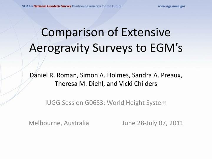 iugg session g06s3 world height system melbourne australia june 28 july 07 2011 n.