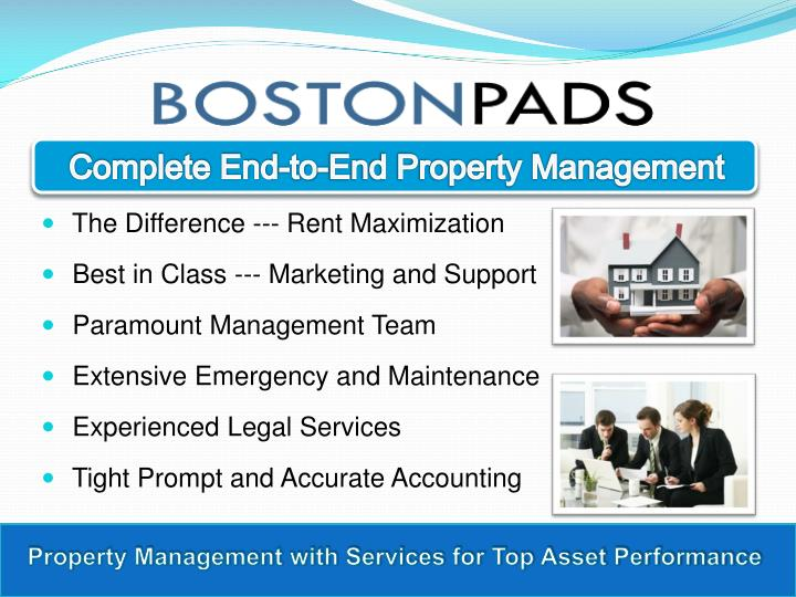 Complete End-to-End Property Management