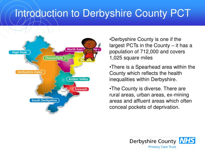 Introduction to Derbyshire County PCT