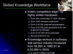 skilled knowledge workforce