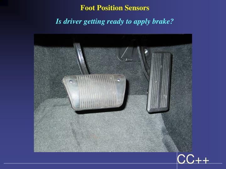 Foot Position Sensors