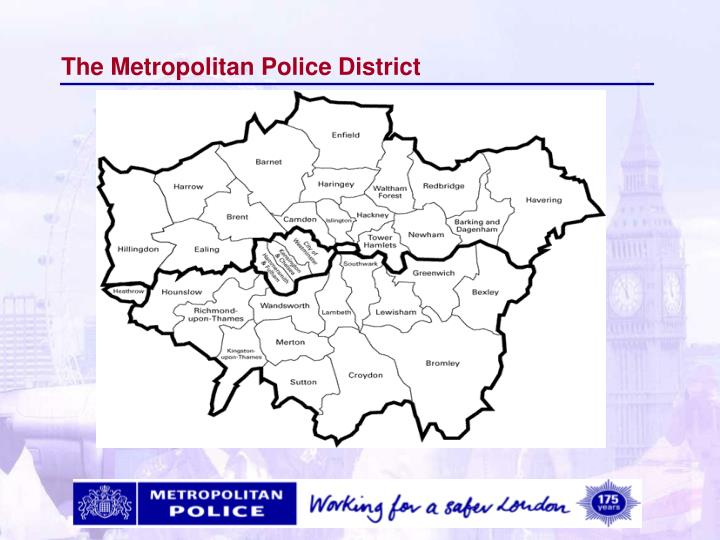 The Metropolitan Police District