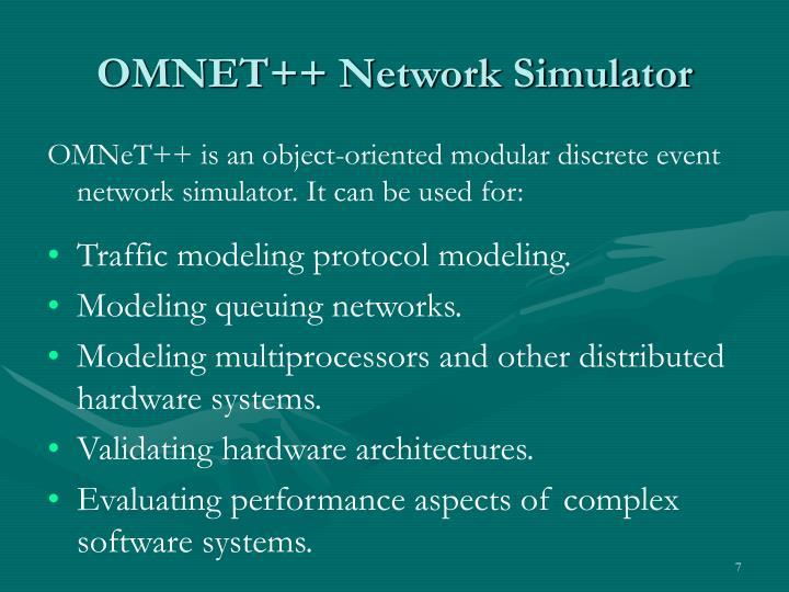 OMNET++ Network Simulator