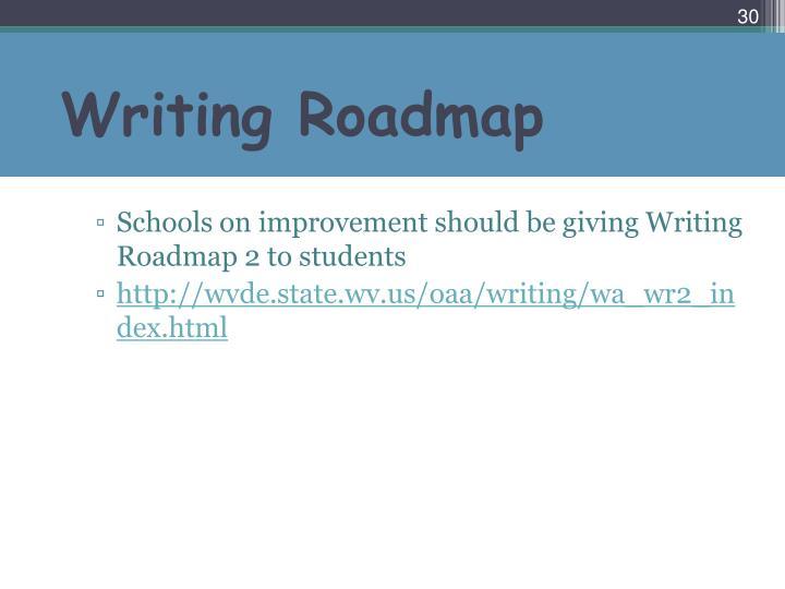 Writing Roadmap