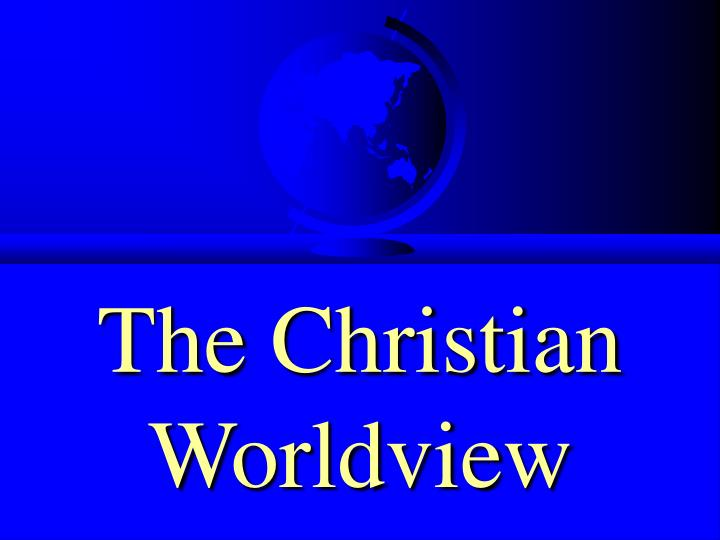 the christian worldview n.