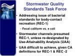 stormwater quality standards task force
