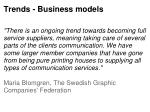 trends business models