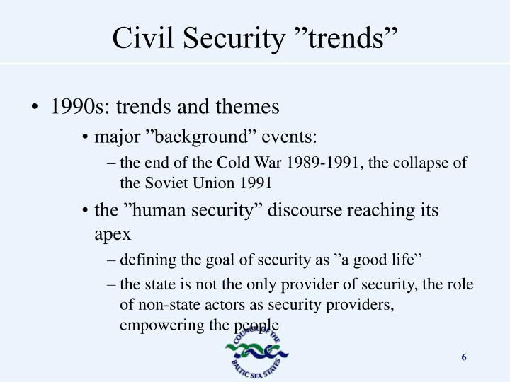1990s: trends and themes