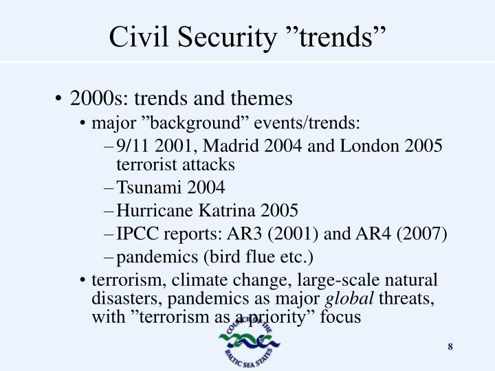 2000s: trends and themes