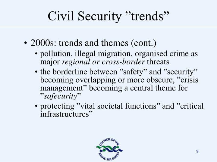 2000s: trends and themes (cont.)
