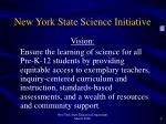 new york state science initiative1