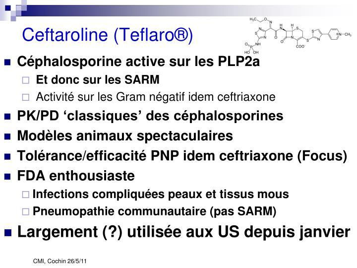 Ceftaroline (Teflaro