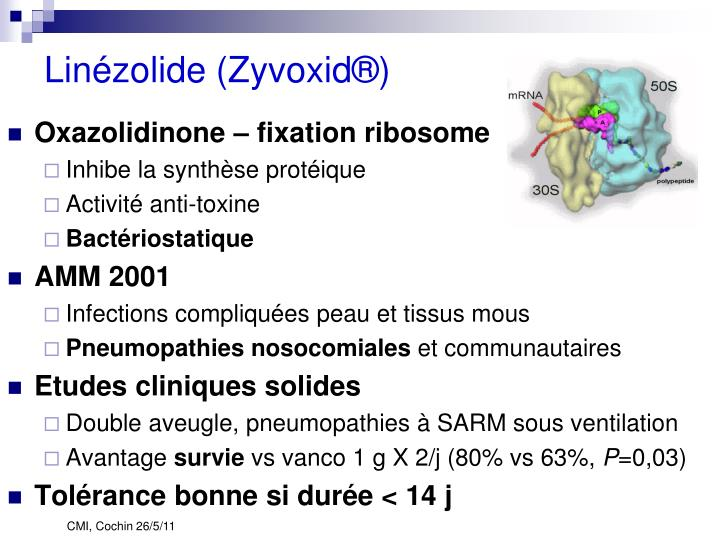Linézolide (Zyvoxid