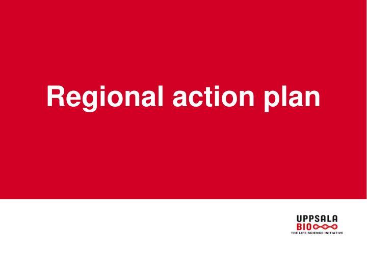 Regional action plan