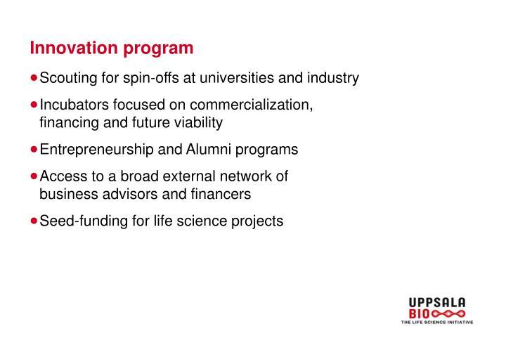 Innovation program
