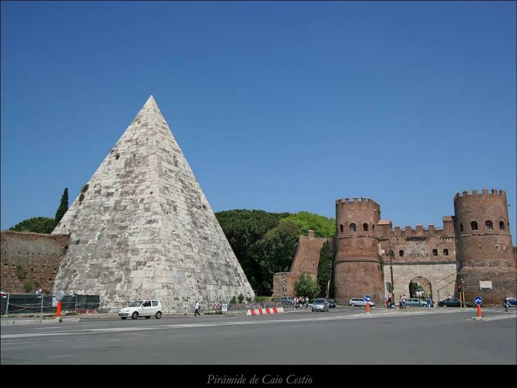 Pirámide de Caio Cestio
