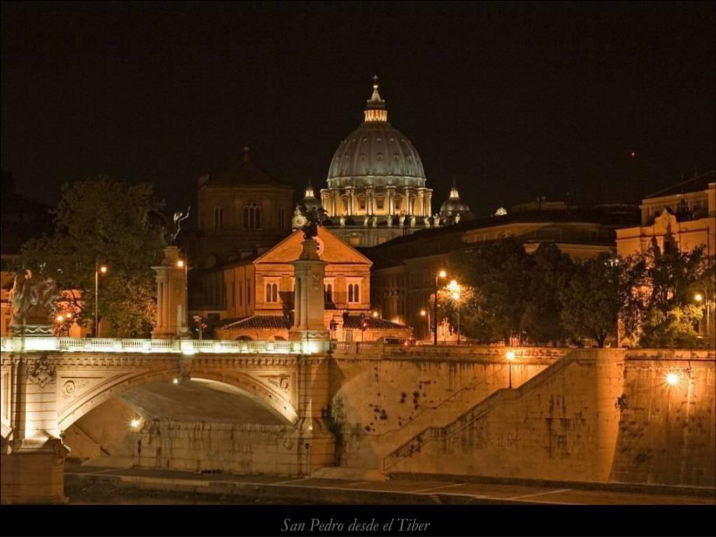 San Pedro desde el Tiber