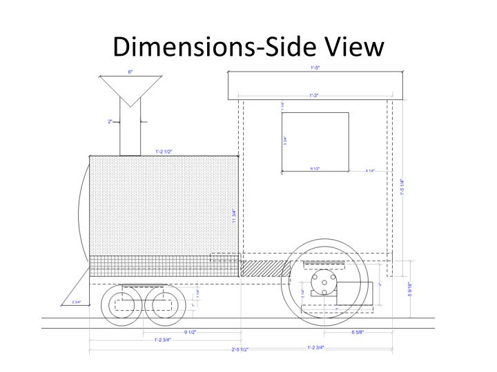 Dimensions-Side View