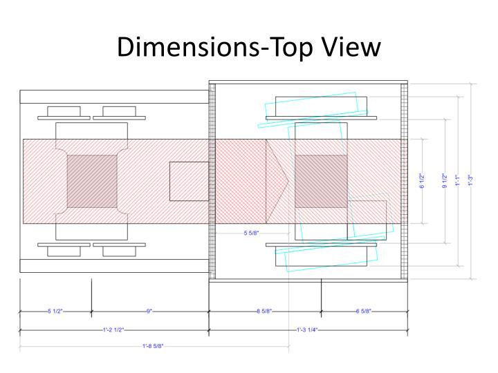 Dimensions-Top View