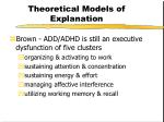 theoretical models of explanation21