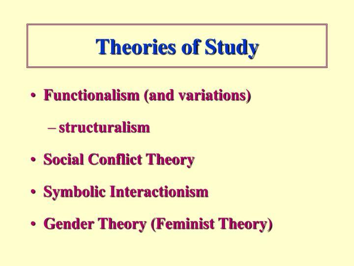 Theories of Study