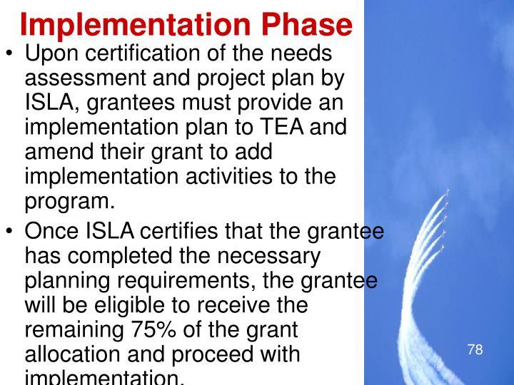 Implementation Phase