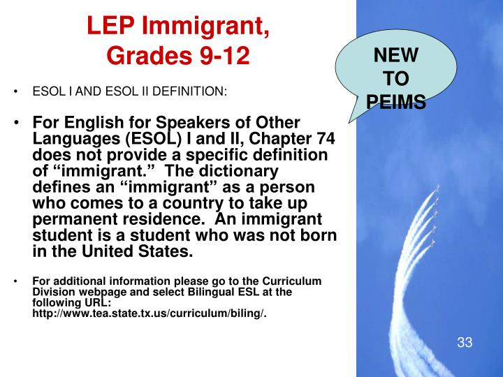 LEP Immigrant,