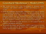 grossbard shechtman s model 1995
