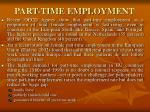 part time employment