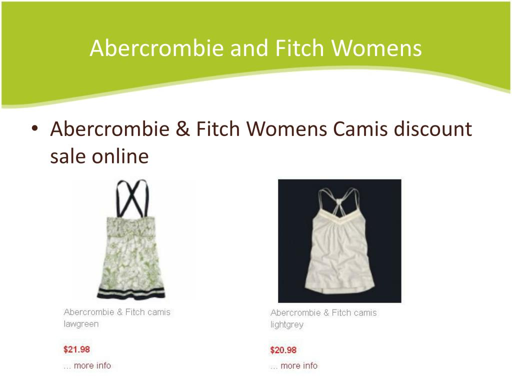 Abercrombie and Fitch Womens