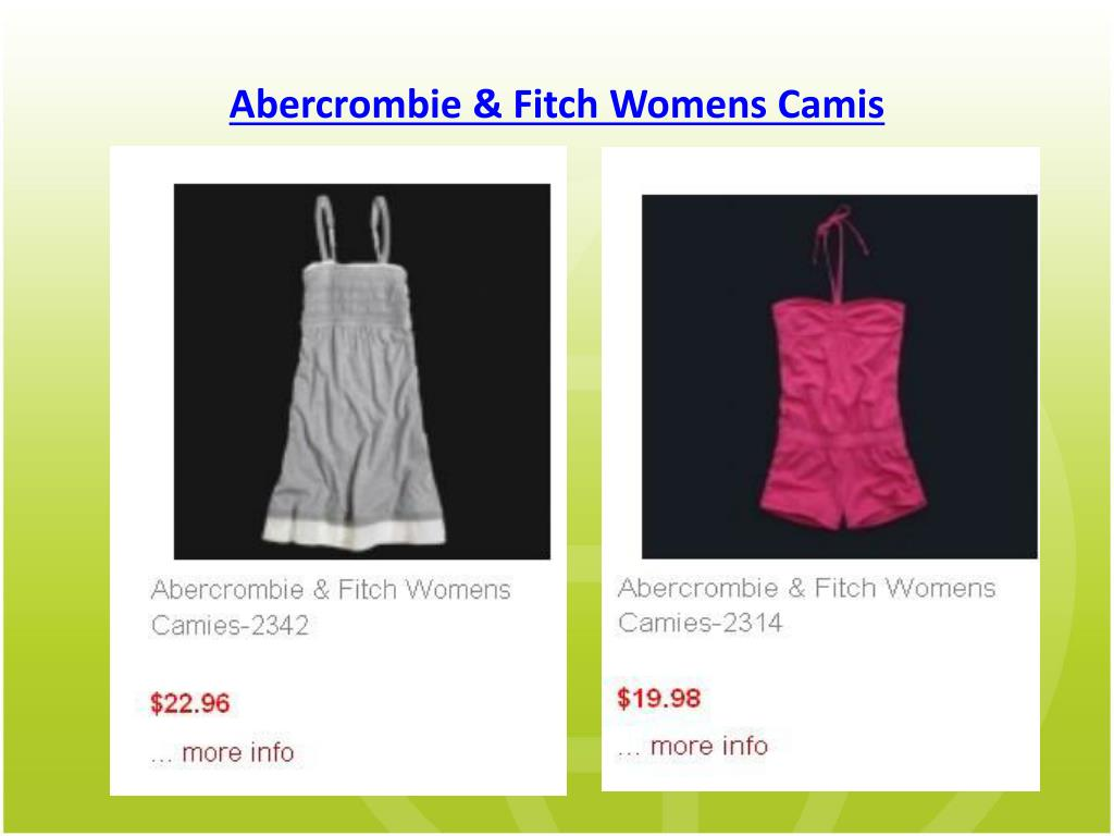 Abercrombie & Fitch Womens