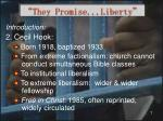 they promise liberty1